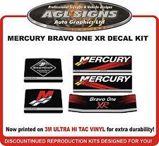 Mercury Bravo One XR Racing Outdrive Reproduction Decal Kit   Mercruiser