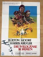 Filmposter * Kinoplakat * A1 * Die Wildgänse kommen * EA 1978 * A. V. McLaglen