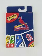 Uno St Louis Cardinals Card Game New Mattel