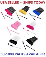 Disposable Makeup Eyelash Brushes Mascara Wands Eyeliner Brush Applicator Tool