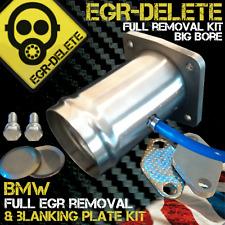 BMW E46 318td 320cd td 330xd 320cd  320td BOOST GAUGE EGR removal kit blanking