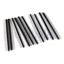 10X Single Row 40 Way / Pin 2.54mm Pin Headers para Arduino del conector  BC