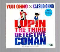 LUPIN THE THIRD DETECTIVE CONAN ORIGINAL SOUNDTRACK/2disc[CD](PAPER BOX CASE)