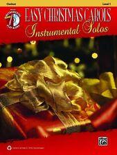 Easy Christmas Carols Instrumental Solos: Clarinet