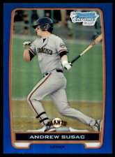2012 Bowman Chrome Draft Blue Refractor Andrew Susac #/250 #BCP97