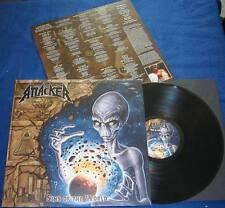 ATTACKER - Sins of the World (LIM.350 BLACK V.*US POWER METAL*LIEGE LORD*HELSTAR
