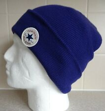 CONVERSE ~ ALL STAR RANGE ~ BEANIE HAT ~ ROLL UP ~ AUTHENTIC ~ PURPLE ~ SO WARM!