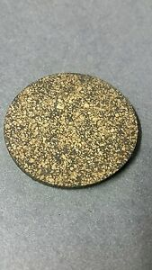10 Blank Cork Circle/Round Coasters/Trivets Made in USA
