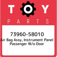 73960-58010 Toyota Air bag assy, instrument panel passenger w/o door 7396058010,