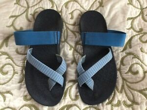 Chaco Tetra Coud Women's Sandals Size 9 Bluebell Eclipse Flip Flops