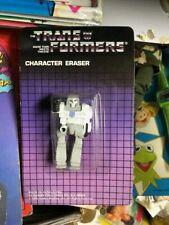 Transformers G1 MEGATRON figure eraser 1985 figure Hasbro vintage moc rare