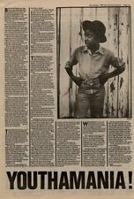 Musical Youth Interview NME Cutting 1982