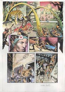 THOMAS YEATES Painted TARZAN: The Once And Future Tarzan