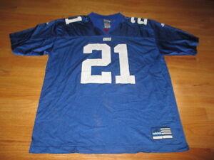 Adidas TIKI BARBER No. 21 NEW YORK GIANTS (LG) Jersey BLUE