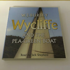 W.J. BURLEY WYCLIFFE AND THE PEA GREEN BOAT - AUDIOBOOK CD