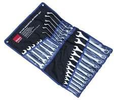 24 PC métricas combinación Spanner Conjunto de Extremo Abierto Anillo 8-24mm 6-17mm Rollo Pack Hilka