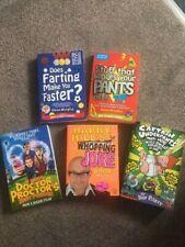 Childrens Book Bundle, Captain Underpants, Science Museum x 2 & Doctor Proctor