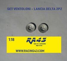 1/18 Lancia Delta Set ventoloni wheels roues accessori Kyosho IXO