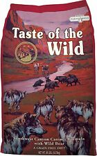 Taste of the Wild Southwest Canyon Grain-Free Dry Dog Food 28lb Bag (Free ship)
