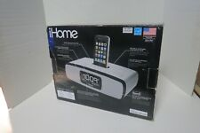 iHome IP90 Wake Sleep And Charge Your iPod And iPhone Bonus Ear Buds Open Box