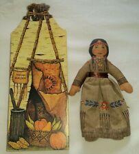 Collectible Hallmark Cloth Doll: 1st Thanksgiving Maiden in Original Box