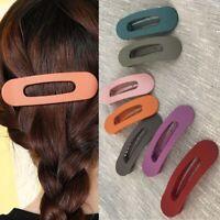 Acryl Mode Matte Kopfbekleidung Haarklammern Zubehör für Haare Haarnadeln