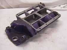 Vintage Cragar Big Block Chevy Blower Supercharger Intake Manifold 671 B.B.C.