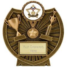 WELL DONE RESIN STAR TROPHY SCHOOL AWARD FREE ENGRAVING A1615A B8