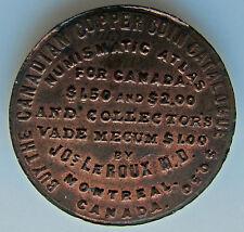 "Canada Breton Token 582 Joseph LeRoux MD "" Landon Sale """