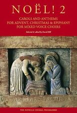 Noel 2 Carols Anthems For Advent Christmas Epiphany Play Organ Piano Music Book
