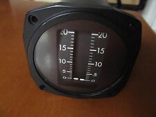 AVIONICS FUEL METER MADE IN USA  NOS
