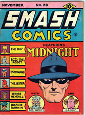 SMASH COMICS #28 Quality Comic Group - NOV 1941 Buy 3 comics & get FREE SHIPPING