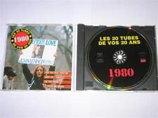 CD / LES TUBES DE VOS 20 ANS / 1980 / SUPER COMPIL / EXCELLENT ETAT