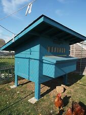 Chicken Coop Plans (B-Size), 4' X 5' Insulated, Modular Construction