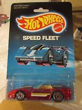 Hot Wheels Custom Corvette Speed Fleet Red