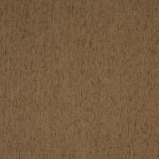 A853 Light Brown Solid Chenille Upholstery Fabric By The Yard