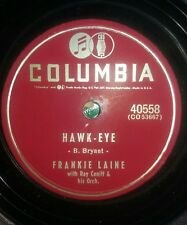 RARE,FRANKIE LAINE,YOUR LOVE ,78 TOURS