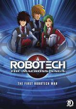 Robotech: Macross Saga - First Robotech War DVD