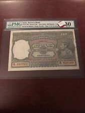 INDIA -P-20 100 RS KGVi ND(1943 ) Pmg 30