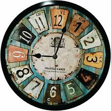 Wall Clock for Home/Living Room/Bedroom/Kitchen Antique Theme
