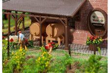 FALLER 180972 HO 1/87 2 Fûts en bois et 2 baquets - 2 Wooden casks and 2 tubs