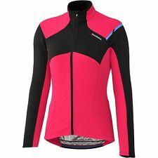 Shimano Women's specific Thermal Winter cycling Jersey, full zip, rear pockets.