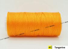 0.8mm 100% Nylon Twisted Cord Thread Macrame Beading Crochet Hand Crafts Artisan