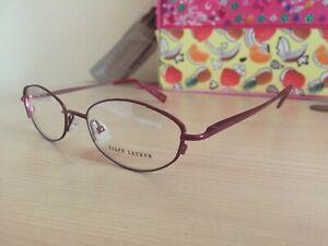 Ralph Lauren glasses frame model RL1471 designer bronzey red 51-17-135