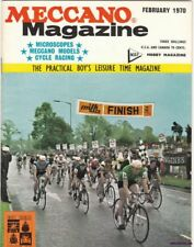 A vintage February 1970 Issue of Meccano Magazine, Hobby Magazine