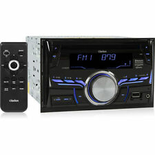 Clarion CX505 Double DIN aptX Bluetooth CD Car Stereo Receiver w/ HD Radio