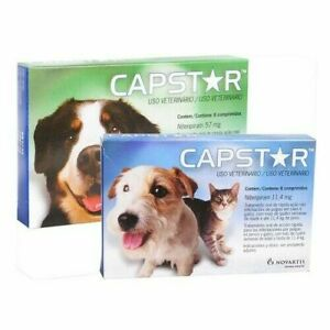 Capstar Flea Treatment for Cats and Dogs (11,4mg/57mg) 6 Tablets (ie)