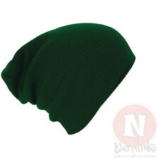 Slouch beanie hat 7 colours baggy beenie festival club most cool brand new adult