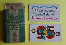Spielkarten  - SKAT PREUSSISCHES DOPPELBILD NR. 620   -  Herst.  ASS