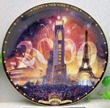 Bradford Exchange Millennium Around the World Tribute 2000 Collector Plate 9977A